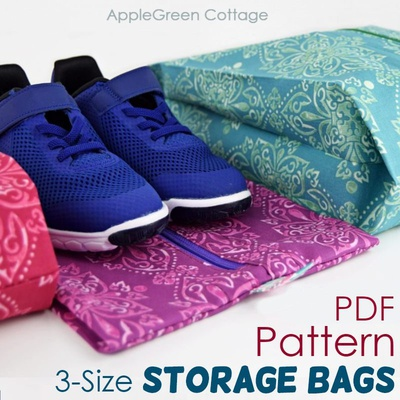 Expandable Storage Bag In 3 Sizes