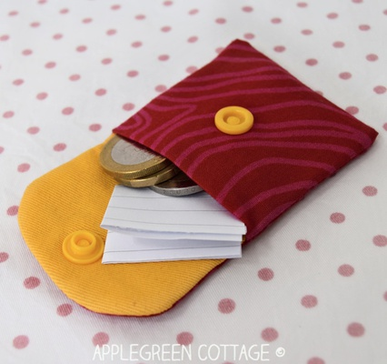MINI Fabric Pouch Pattern