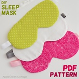Sleep Mask Pattern
