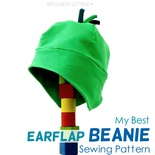 My Best Earflap Beanie Hat Pattern