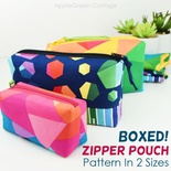 BOXED! Zipper Pouch Pattern