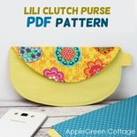 Lili Clutch Purse Pattern