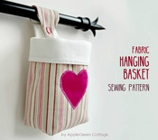 Fabric Hanging Basket Pattern