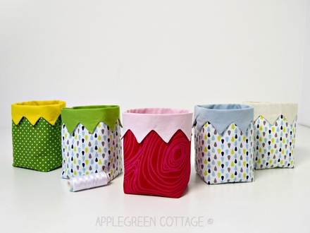 KAIA Mini Fabric Bin Pattern