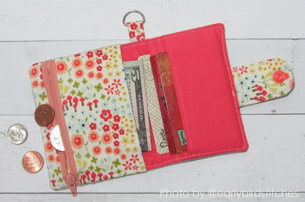 Wallet Sewing Pattern - KALINA Mini